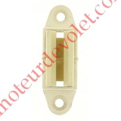 Bloqueur à Clips Réglable en Profondeur de 28 à 48 mm pour To Coloris Blanc