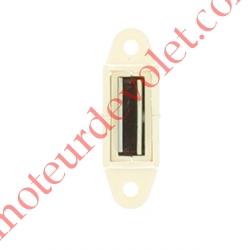 Bloqueur Magnétique Réglable en Profondeur de 28 à 48 mm pour To Coloris Blanc
