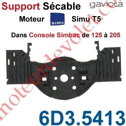 Support Moteur Simu T5 Sécable dans Console Simbac de 125 à 205