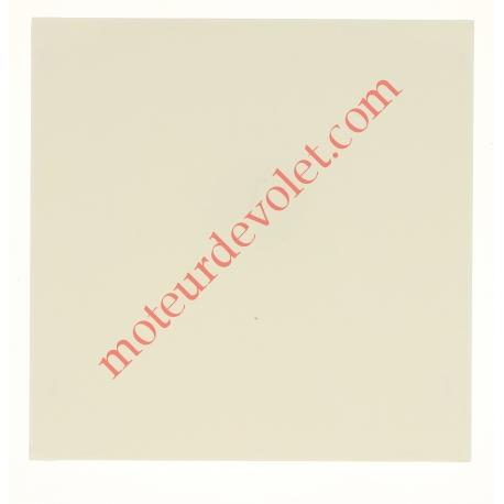 Embout de Coffre Modulo Alu de 180 Pan Droit en Abs Coloris Blanc