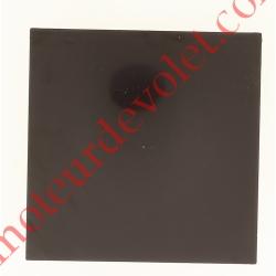 Embout de Coffre Modulo Alu de 180 Pan Droit en Abs Coloris Marron