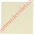 Embout de Coffre Modulo Alu de 205 Pan Droit en Abs Coloris Blanc
