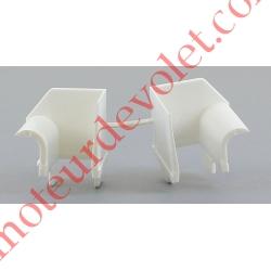 Tulipes (Paire) pour Modulo Passage 14,5 mm Coloris Blanc