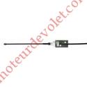 Antenne 433 MHz Rts Câble CoAxial ø 5 mm Longueur ± 3 m