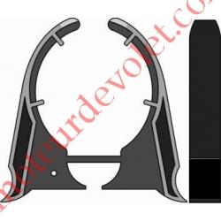 Clip d'Arrêt pour support Polyréno sauf 125 & 137 mm LT 50 Couple Maxi 25 Nm
