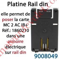 Platine pour Montage sur Rail Din des Motor Controller PCB
