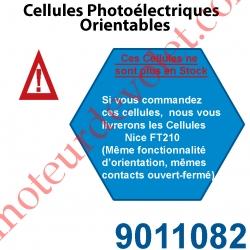 Cellules Photoélectriques Orientables(Barrage)Eta ip 55 12-24v ac/dc Prt Max 20m