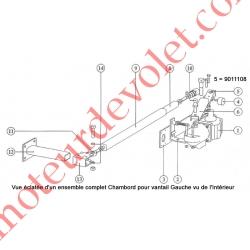 Bielle de 280 mm pour Chambord