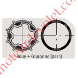 Jeu adapt pour Moteur LT50, Tube Deprat 53 5/10 Couple Maxi 40 Nm