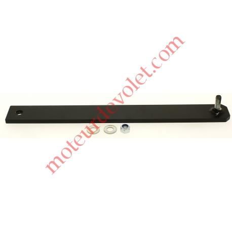 Bras Portail Court Acier Bronzal Entr'axes 420mm (utiliser Pat Fix Port 9013753)