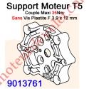 Support Moteur Universel T5 Couple Maxi 35 Nm