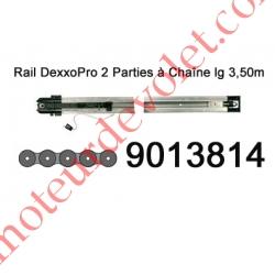 Rail en 2 Parties à Chaîne 30 000 Cycles lg 3,50m pour Dexxo Pro