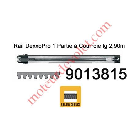 Rail Monobloc à Courroie 30 000 Cycles lg 2,90m pour Dexxo Pro