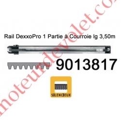 Rail Monobloc à Courroie 30 000 Cycles lg 3,50m pour Dexxo Pro
