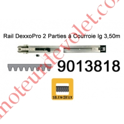 Rail en 2 Parties à Courroie 30 000 Cycles lg 3,50m pour Dexxo Pro