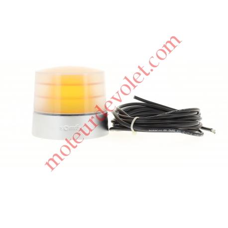 Feu Orange 24v Fixe Antenne 433MHz Intégrée Culot E14 25w Etanche ip54