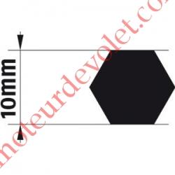 Adaptateur d'Axe Hexagonal de 10 mm pour Moteur de Bso J4