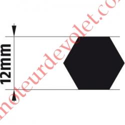 Adaptateur d'Axe Hexagonal de 12 mm pour Moteur de Bso J4