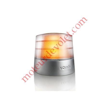 Feu Orange Master Pro 24v Clignotant Antenne 433MHz Intégrée Culot E14 25w Etanche ip54