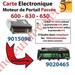 Carte Electronique pour Moteur de Portail Passeo 600-630-650 remplacée par Réf 9020465