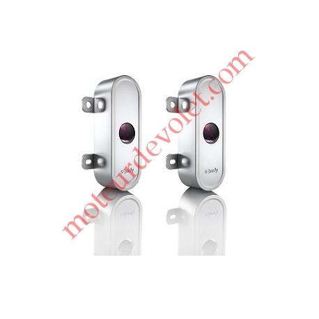 Coque en Aluminium Antivandale pour Cellules 9014994 ou 1841155 (la Paire)