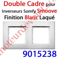 Cadre Smoove Blanc Laqué 2 Postes 145 x 80 x 10 mm