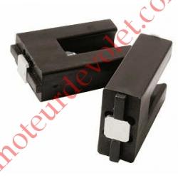 Cales L25xH35xE12mm (Paire) à poser aux Extrémités du Profil de Barre Palpeuse pour éviter l'écrasement