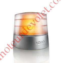 Feu Orange Master Pro 24v Fixe Sans Antenne Intégrée à Led 3,5w Etanche ip54