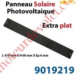 Panneau Solaire Photovoltaïque Oximo Wirefree Extra Plat Modèle 2015