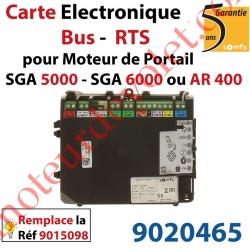 Nouvelle Carte Electronique Bus Rts pour Moteur de Portail Ouvrant à la Française Somfy SGA 5000 SGA 6000 ou AR 400