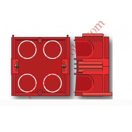 Boîtier Encastrement Maçon Hexa profondeur 40 mm à vis