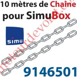Kit de 10 m de Chaîne Maillons Spéciaux pour Simubox