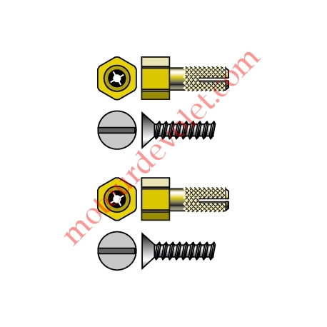 Pion Cheville de Fixation LT 50 Csi dans Modulo Couple Maxi 50 Nm