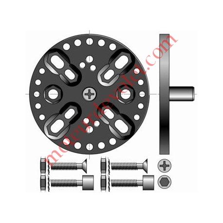 Support Csi Entr'axes Trd 44, 48 & 60 mm Orien par 13° Avec Pion Cple Max 120 Nm
