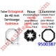 Jeu d'Adaptation pour Moteur LS 40 ou T 3.5 dans Tube Octo 40 Deprat 6 & 8/10 à Sertissage Extérieur (9500344+9132145)