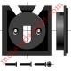 Support de Moteur Somfy Ls 40 pour Caisson Elket à Tiroir de 68 ou 88 mm Avec 2 Vis Plastite n°7