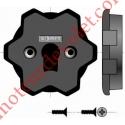 Support Interface Tête Ls40 vers Tête LT50 Avec 2 vis Plastite 3,8 x 12 mm