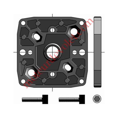 Support Csi Entr'axes Trd 44 M6, 48 M6 & 60 mm M8 Sans Pion Cple Max 120 Nm