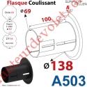 Flasque Coulissant ø 138 mm pour Tubes Zf 64, Deprat 62 & Octo 60