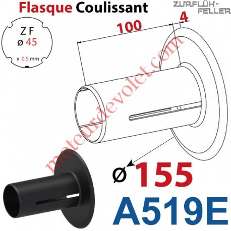 Flasque Coulissant ø 155 mm pour Tube Zf 45
