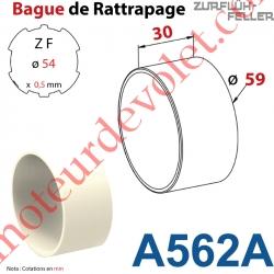 Bague de Rattrapage pour Tube Zf 54