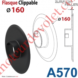 Flasque Clippable ø 160 mm