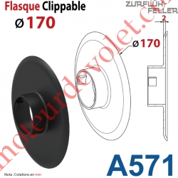 Flasque Clippable ø 170 mm