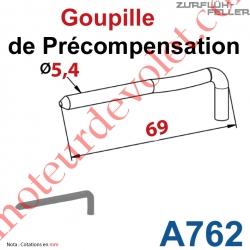 Goupille précompensée ZF 64