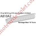 Ressort Type X Fil 30/10 x 575 mm