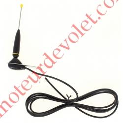 Antenne 433MHz avec Equerre de Fixation