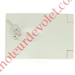 Boîtier de Déverrouillage Electro-Frein ACS12 en Saillie de 35 mm Avec Inverseur Twisty