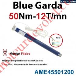 Moteur Cherubini 50/12 Blue Garda ø 45 sans Mds