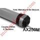 Moteur Gaposa Filaire Ax250 250/8 Axial 100  sans Mds sans Adaptation ni Support