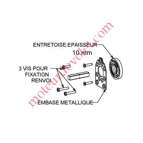 Embase Métallique